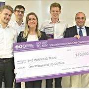 נבחרת הסטודנטים מקופנהגן זכתה בתחרות המהלך האסטרטגי