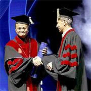 """ג'ק מא, יזם טכנולוגי, איש עסקים ומייסד עליבאבא קיבל מאוני' ת""""א תואר דוקטור של כבוד ונפגש עם סטודנטים"""