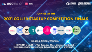 The  5th Annual Coller  Startup Competition 2021