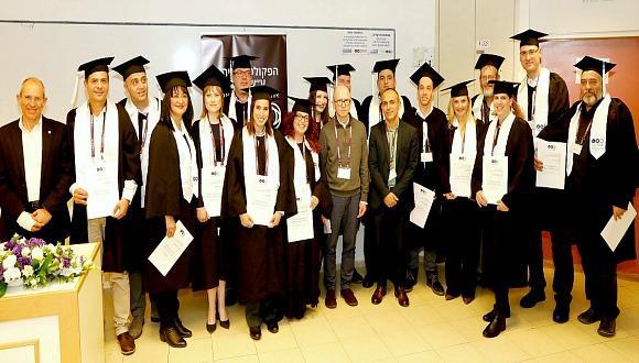 ברכות לרופאים שסיימו את לימודי ה-MBA בניהול מערכות בריאות
