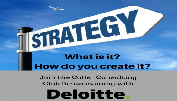 Join The Coller Consulting Club for an evening with Deloitte